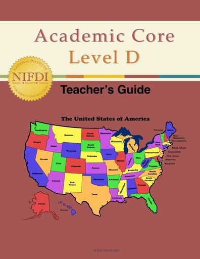 Academic Core Level D Teacher's Guide