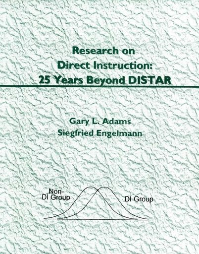 Chapter 3: Myths About DI (Research on DI: 25 Years Beyond DISTAR, 1996)