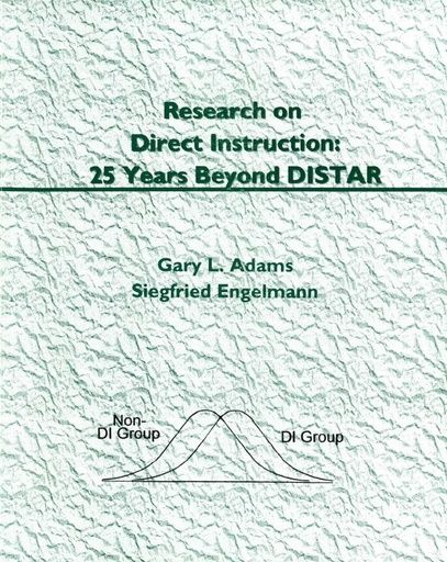 Chapter 2: Features of Direct Instruction Programs (Research on DI: 25 Years Beyond DISTAR, 1996)