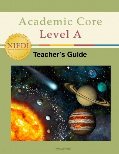 Academic Core Level A Teacher's Guide
