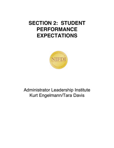 Section 02 StudentPerformanceExpectations 071421