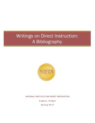 DI Bibliography Reference List
