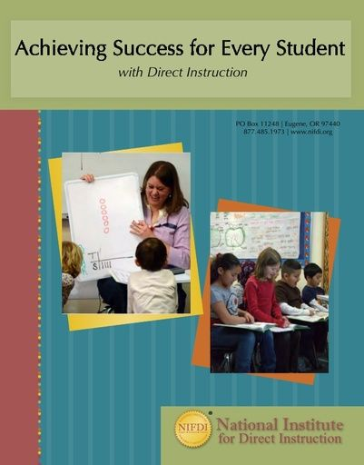 Achieving Success for Every Student with Direct Instruction