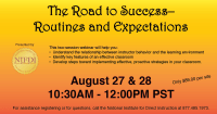Routines and Expectations Webinar - August