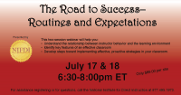 Routines and Expectations Webinar