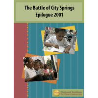 The Battle of City Springs Epilogue 2001